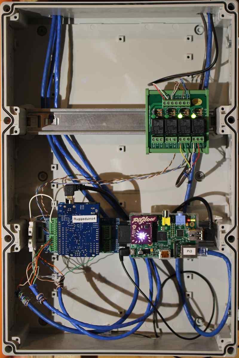 Catalina Computing Llc Home Media Wiring Box 1 Raspberry Pi And Ruggeduino